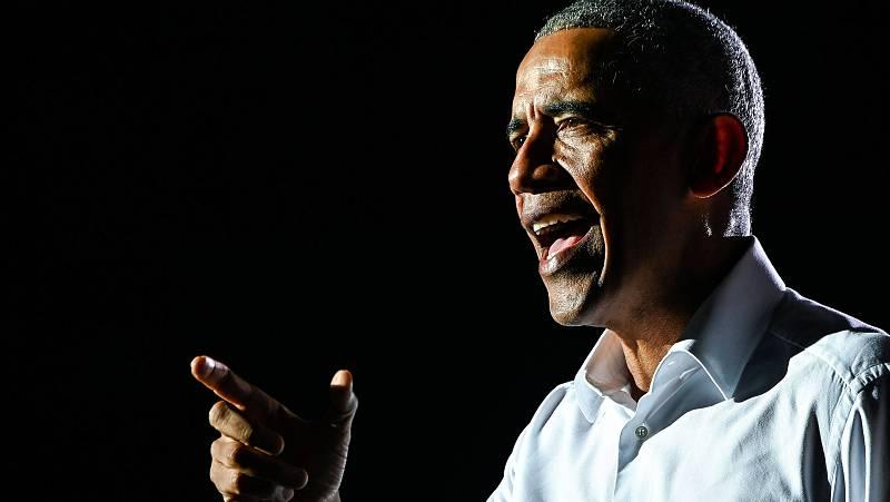 """14 horas - Obama cuenta en """"Una tierra prometida"""" su paso por la Casa Blanca - Escuchar ahora"""
