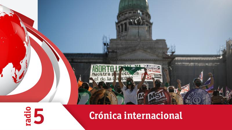 Crónica Internacional - Argentina intentará de nuevo legalizar el aborto - Escuchar ahora