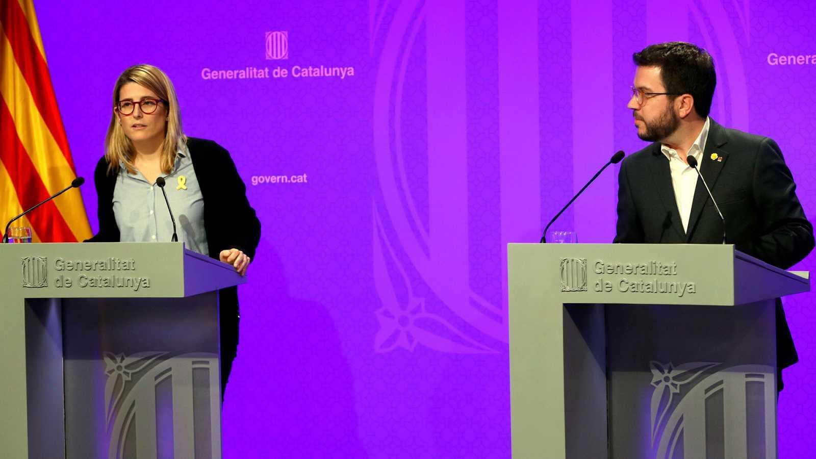 Edició Vespre - Junts i ERC s'acusen de les filtracions del pla de desescalada
