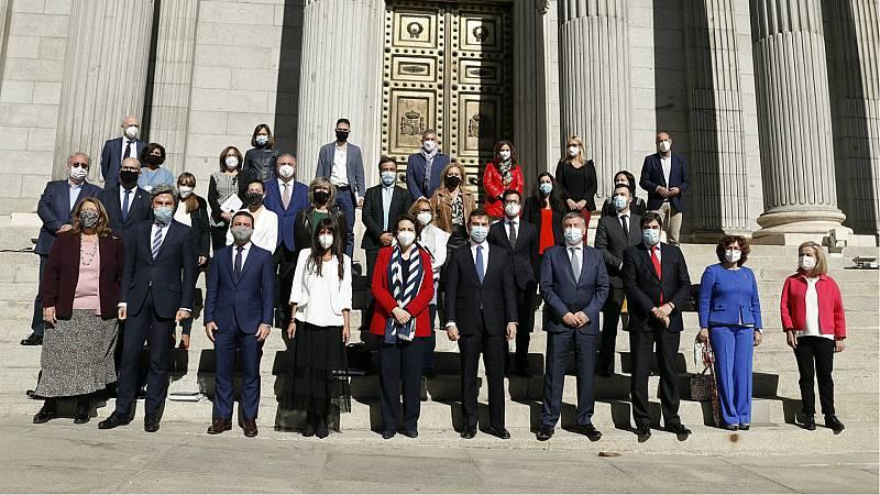 """Las mañanas de RNE con Íñigo Alfonso - PSOE y PP celebran el """"amplio acuerdo"""" sobre pensiones en el Pacto de Toledo: """"Si hubiéramos tensado más la cuerda, no habría salido adelante"""" - Escuchar ahora"""