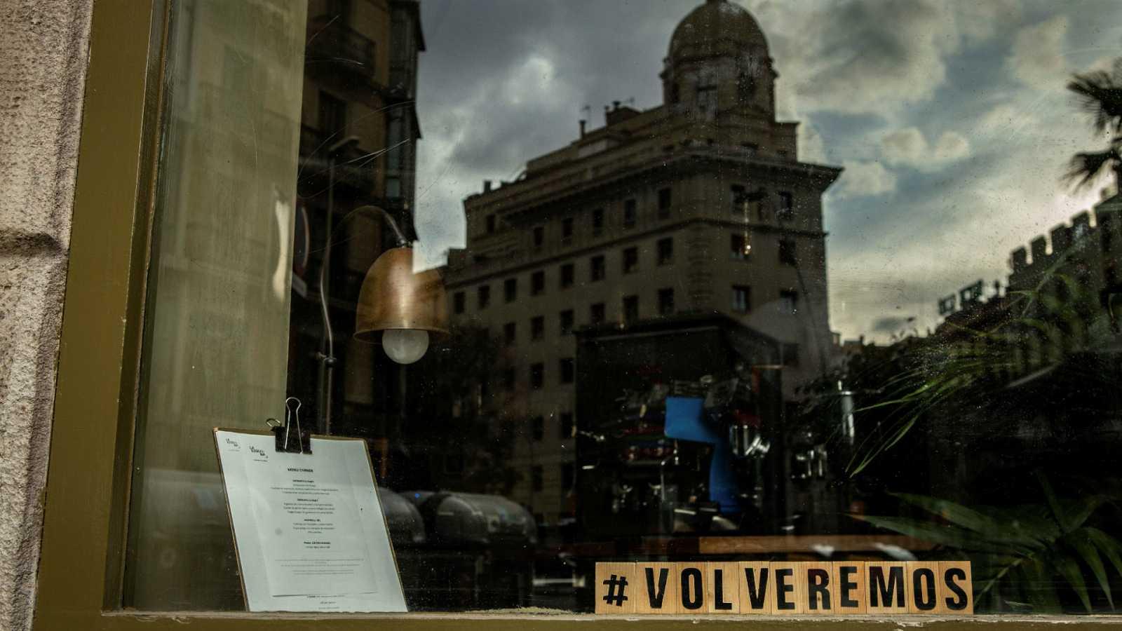 14 horas - Los bares y restaurantes de Cataluña podrán abrir hasta las 21.30 a partir del lunes - Escuchar ahora