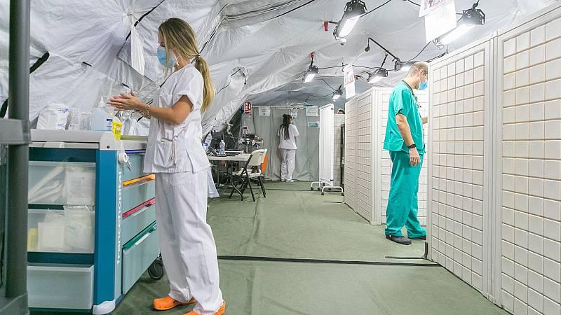 24 horas - La tendencia a la baja de la incidencia de la COVID-19 no se refleja todavía en los hospitales - Escuchar ahora