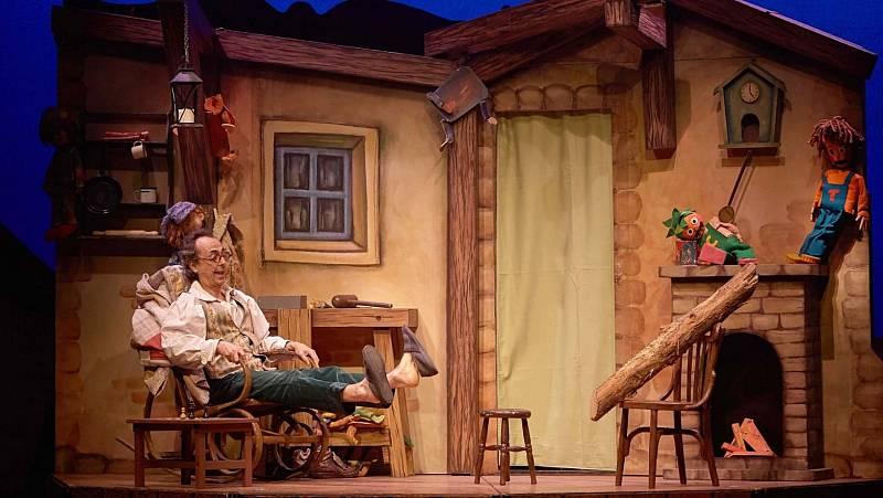 La sala - 'Pinocho, el muñeco de madera': la compañía La bicicleta en el Teatro Sanpol (Madrid) - 20/11/20 - Escuchar ahora