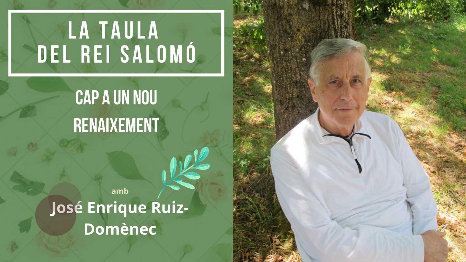 Wonderland - La taula del Rei Salomó. Entrevista a José Enrique Ruiz-Domènec