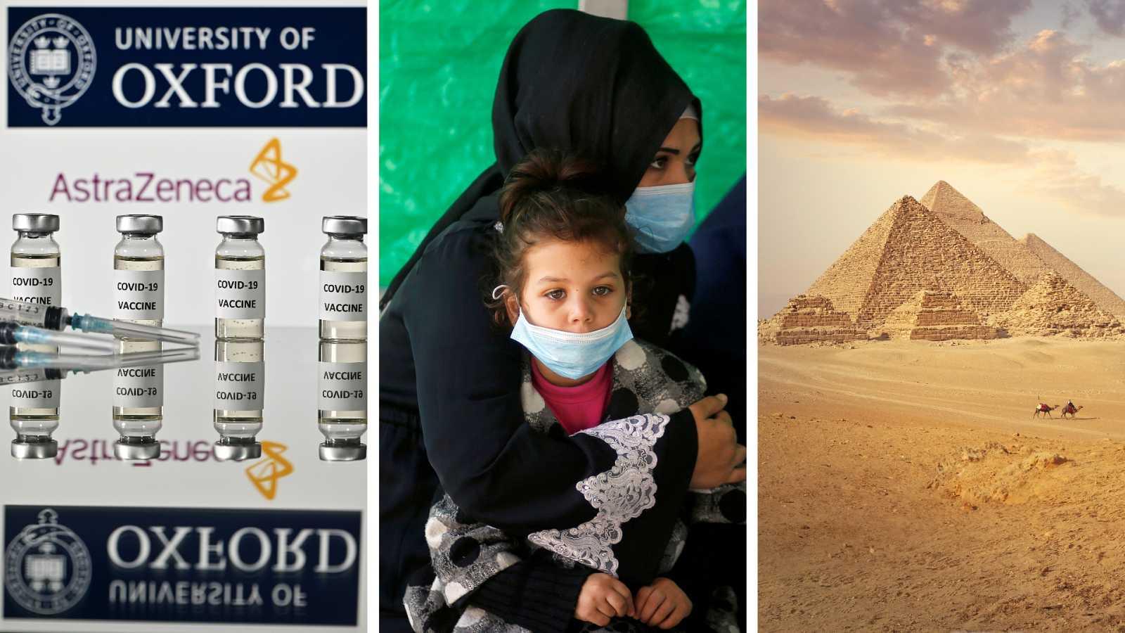 Cinco continentes - La vacuna de Oxford, eficaz al 70% de media - Escuchar ahora