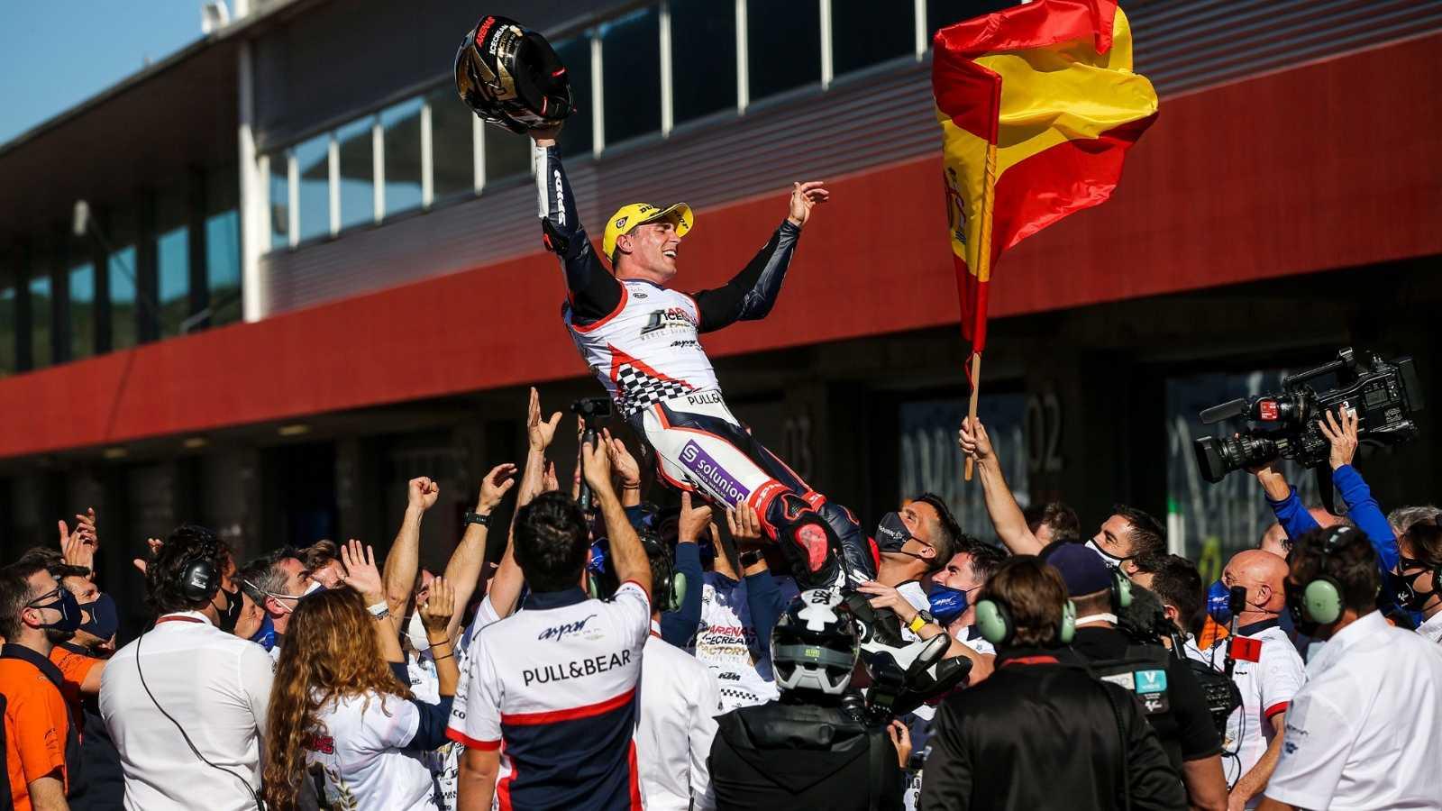 """Arenas: """"Ojalá esté compitiendo en MotoGP en 2022"""" - Escuchar ahora"""