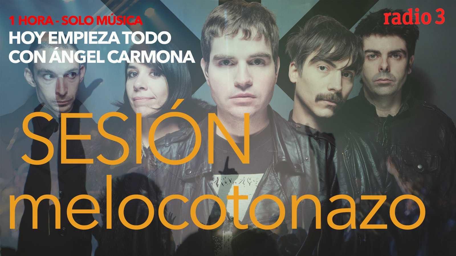 "Hoy empieza todo con Ángel Carmona - ""#SesiónMelocotonazo"": Julieta Venegas, Dorian, Nada Surf...- 24/11/20 - escuchar ahora"