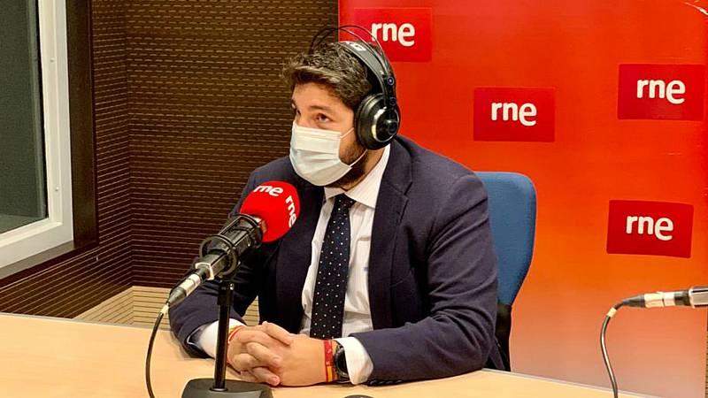 """Las mañanas de RNE con Íñigo Alfonso - López Miras: """"Vamos a intentar invalidar al máximo la 'ley Celaá' en Murcia"""" - Escuchar ahora"""