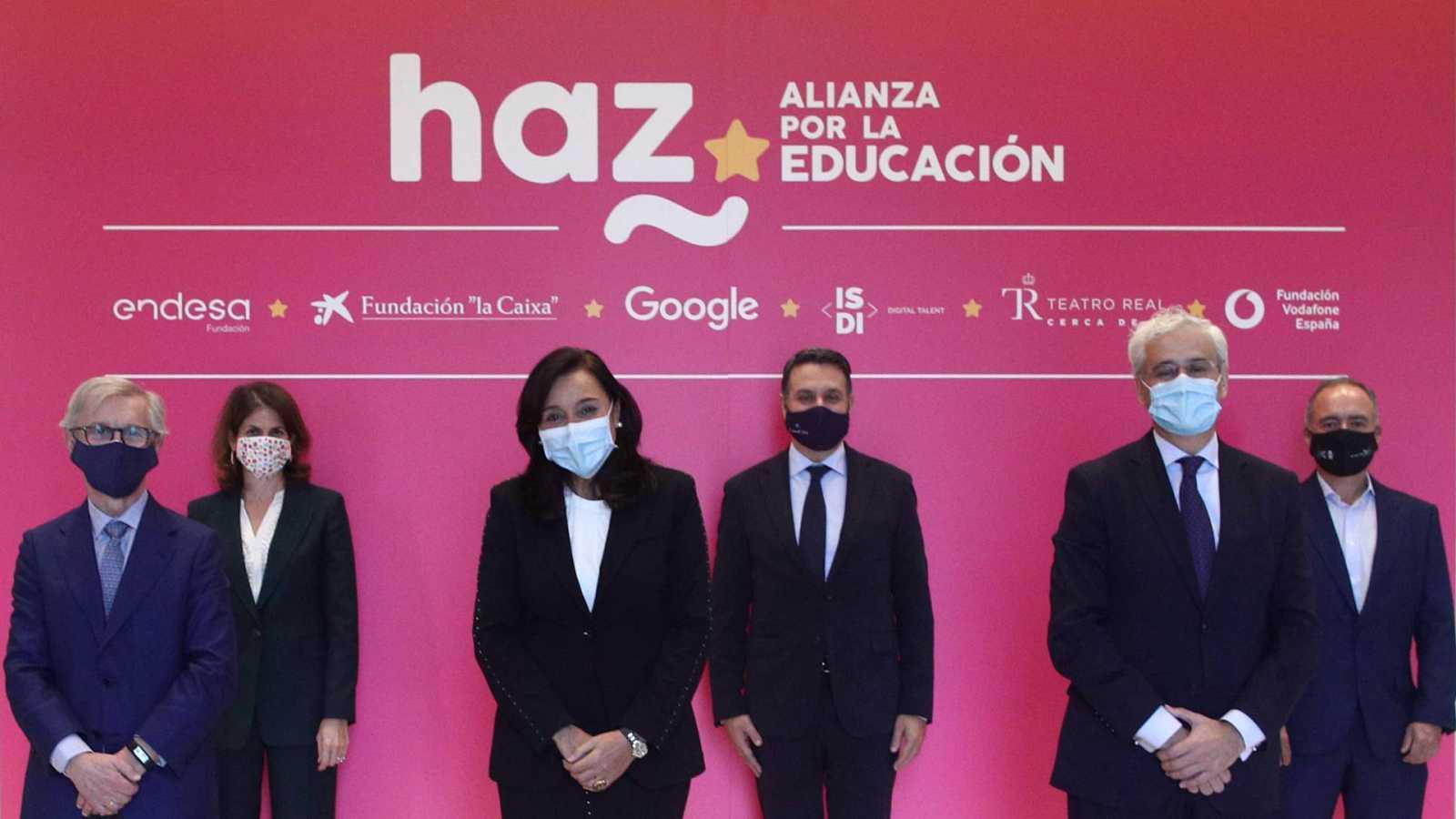 Mundo solidario - HAZ, alianza por la educación - 15/11/20 - escuchar ahora