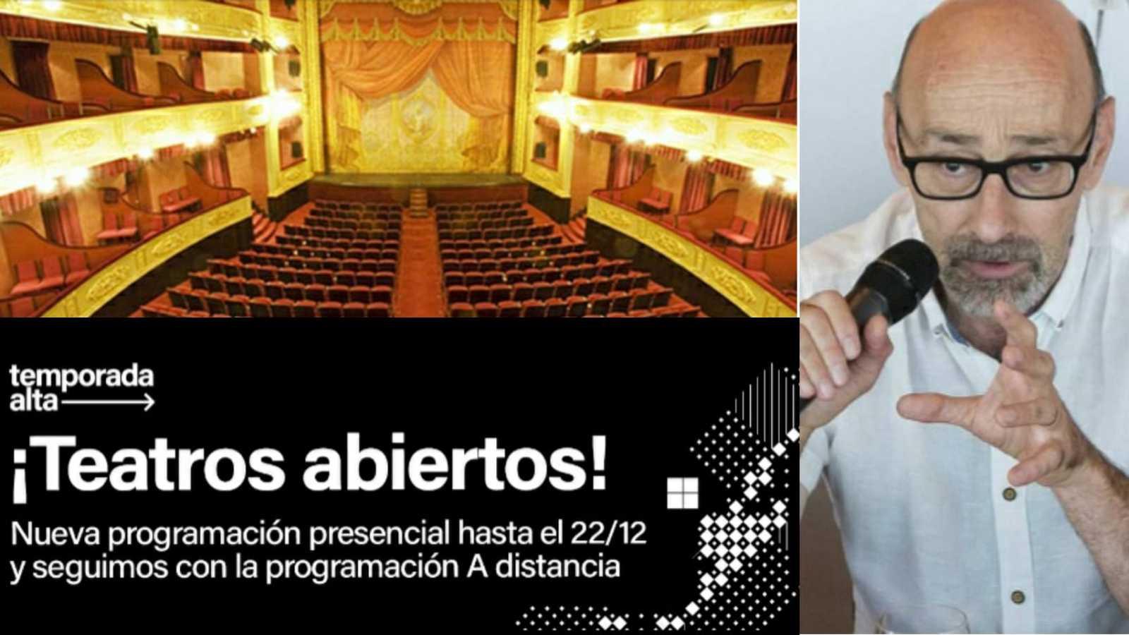 La sala - Salvador Sunyer, director de Temporada Alta, festival de otoño de Cataluña - 24/11/20 - Escuchar ahora