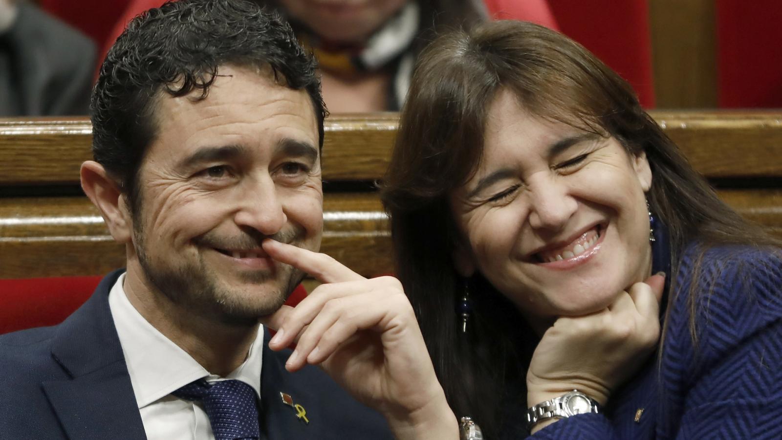 24 horas - Borràs y Calvet, candidatos de Junts a la Generalitat - Escuchar ahora