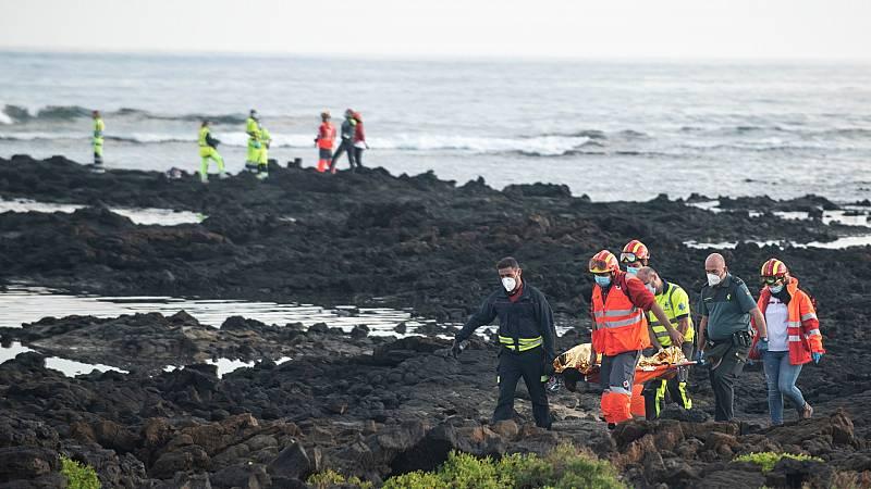 14 horas - Ocho personas migrantes mueren tras el naufragio de su patera en Lanzarote - Escuchar ahora