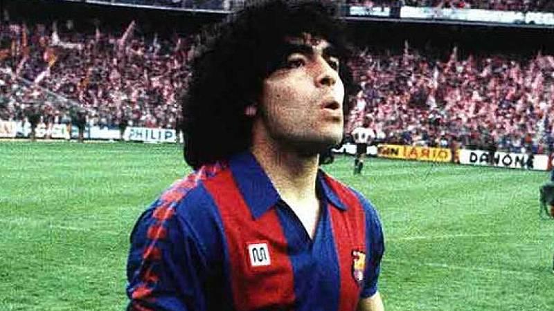 24 horas - El Camp Nou también llora la muerte del argentino - Escuchar ahora