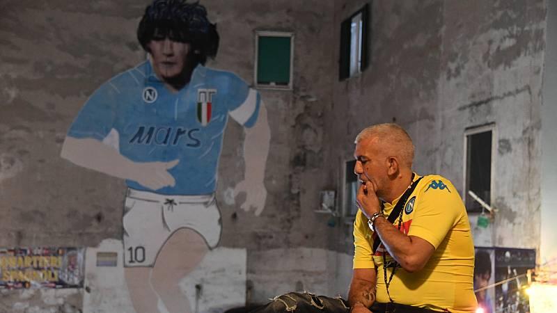 24 horas - Nápoles, altar de Maradona - Escuchar ahora