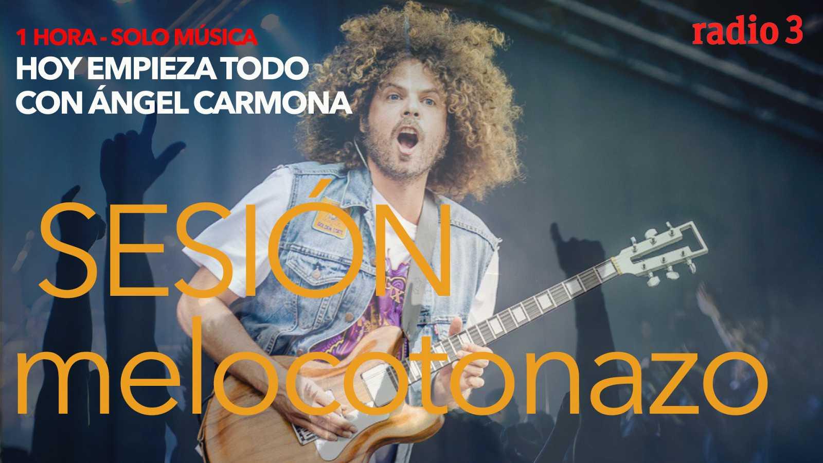 "Hoy empieza todo con Ángel Carmona - ""#SesiónMelocotonazo"": Tina Turner, Wolfmother, Billie Eilish... - 26/11/20 - escuchar ahora"