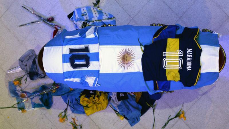 14 horas - Argentina despide a Maradona en la Casa Rosada - Escuchar ahora