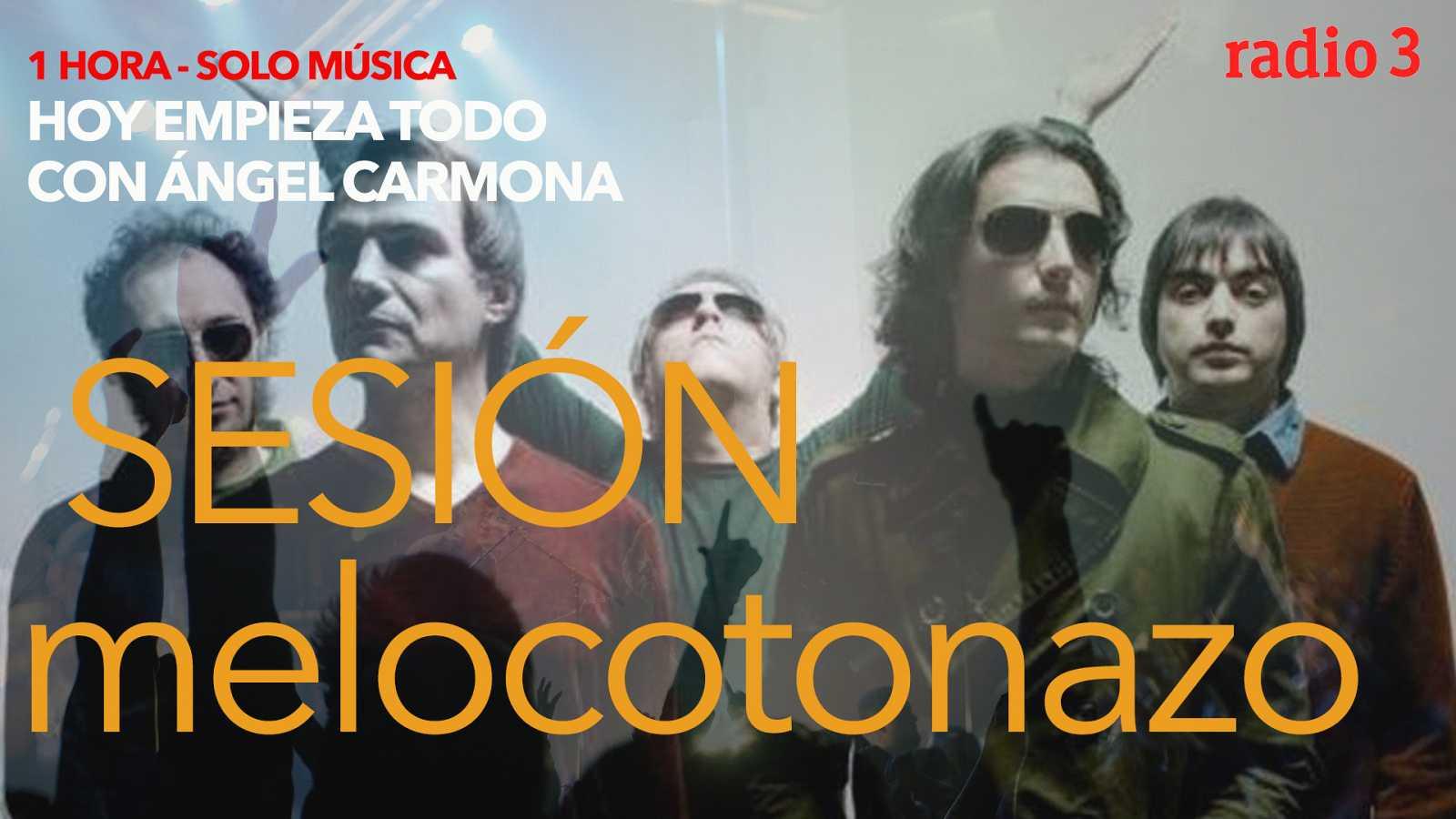 """Hoy empieza todo con Ángel Carmona - """"#SesiónMelocotonazo"""": George Harrison, Los Planetas, Pet Shop Boys... - 27/11/20 - escuchar ahora"""