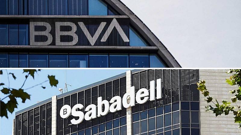 """14 horas -  BBVA y Sabadell: """"Probablemente se retomen las negociaciones en un ámbito más privado"""" - Escuchar ahora"""