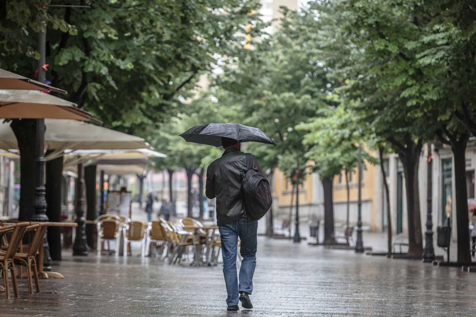 Pluges molt abundants a les comarques de Girona
