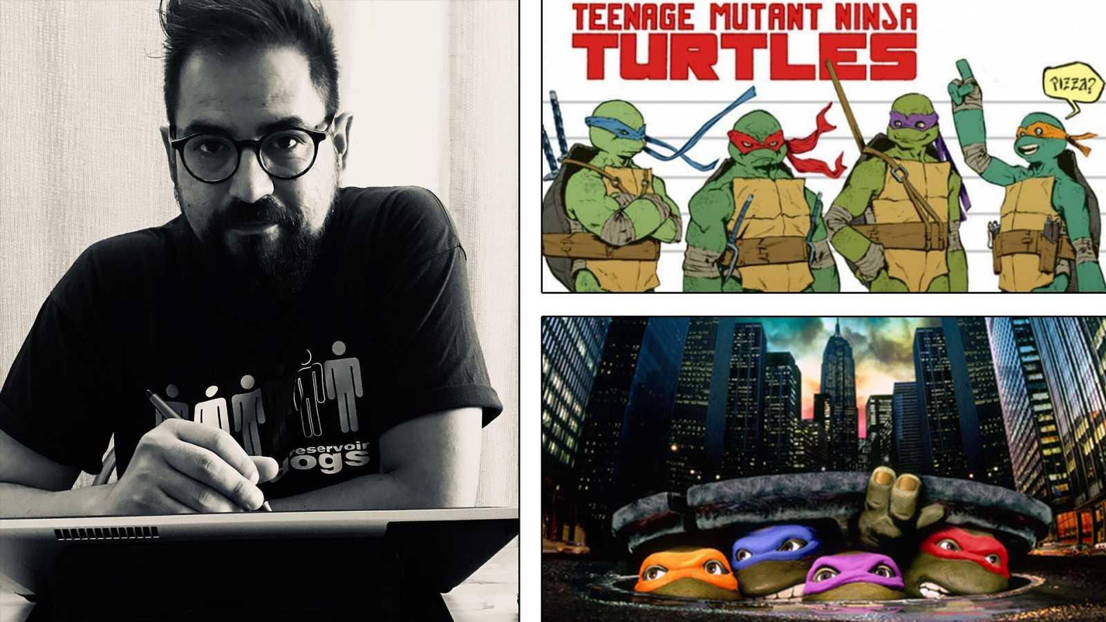¡Qué de cómics! - Jorge Fornés y las Tortugas Ninja - Escuchar ahora