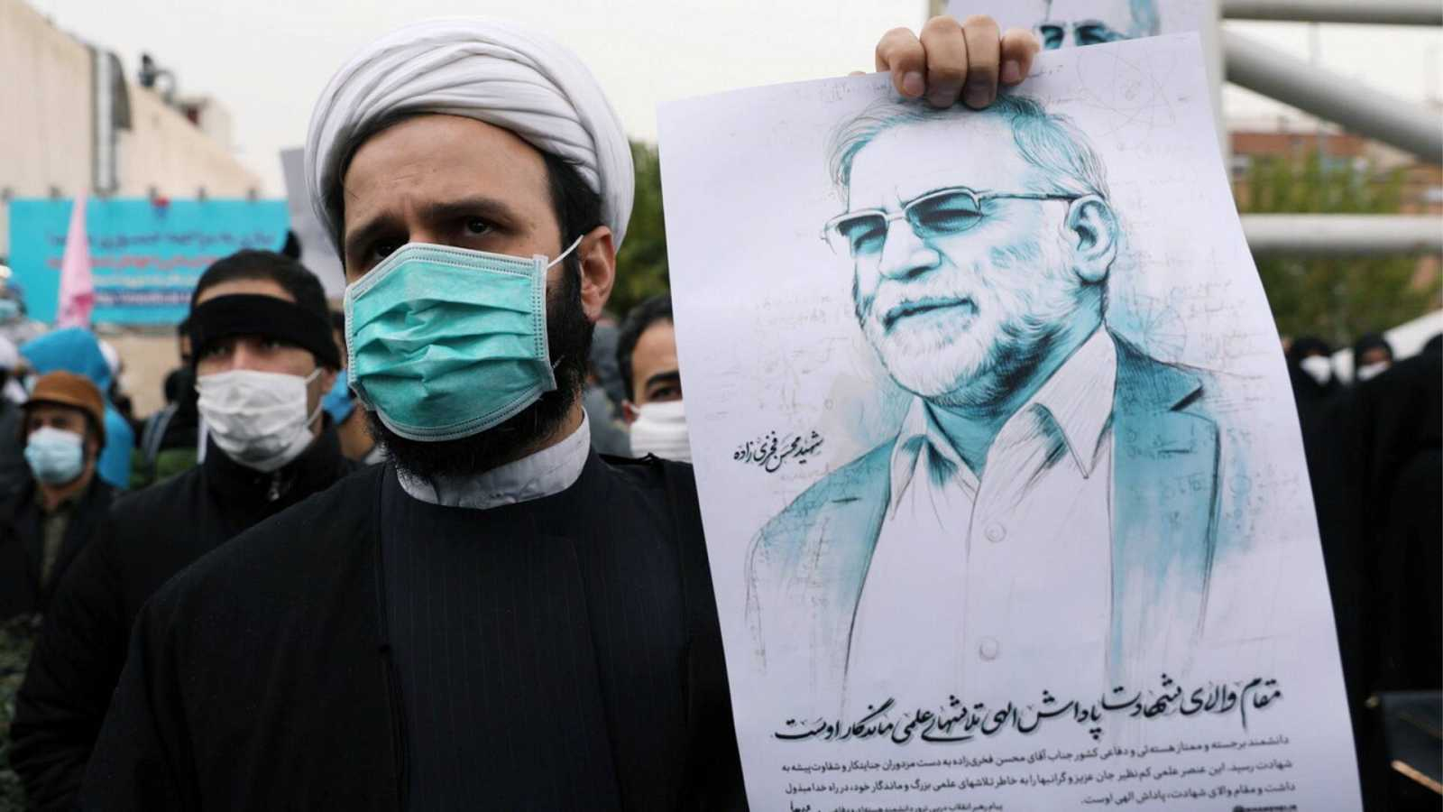 """14 horas informativos Fin de semana - Rohani acusa a Israel del asesinato de Fajrizadé y avisa de que Irán responderá en el momento """"adecuado"""" - Escuchar ahora"""