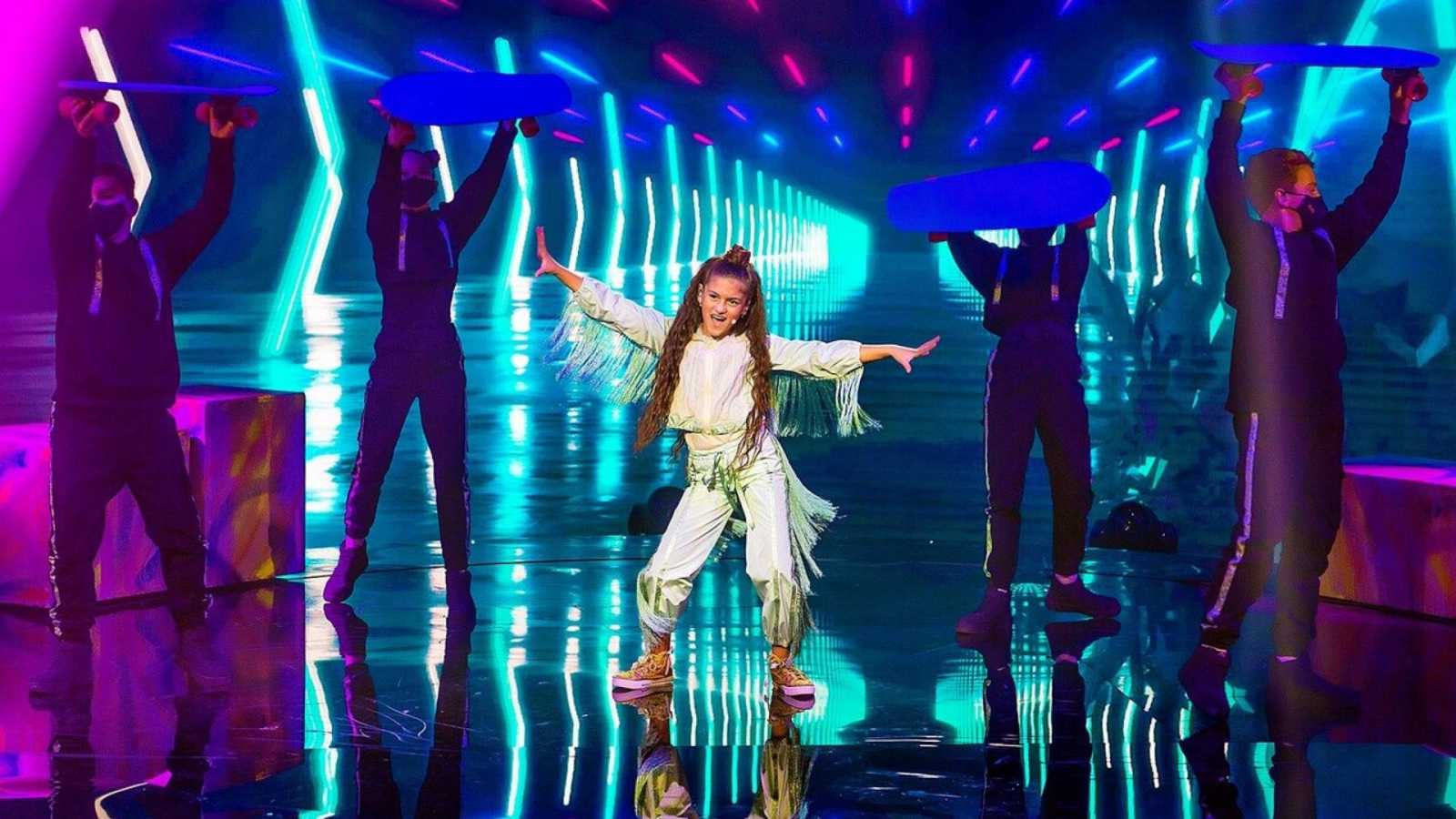 20 horas informativos Fin de semana - Soleá consigue el tercer puesto en Eurovisión Junior, Francia la ganadora - Escuchar ahora