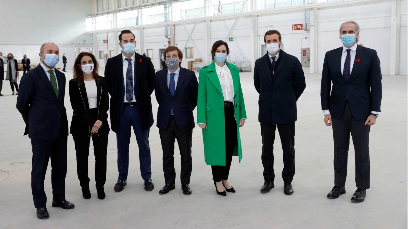 14 horas - Ayuso inaugura el Hospital Isabel Zendal entre protestas por la falta de profesionales - Escuchar ahora