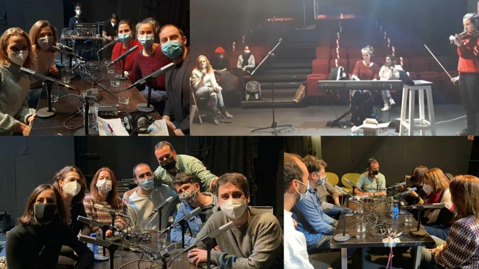 La sala - En el Teatro del Barrio de Madrid con 'Solo un metro de distancia' y La Estampida Teatro - 06/12/20 - escuchar ahora