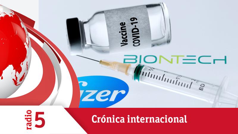 Crónica Internacional - El Reino Unido comenzará a usar la vacuna de Pfizer-Biontech la semana que viene