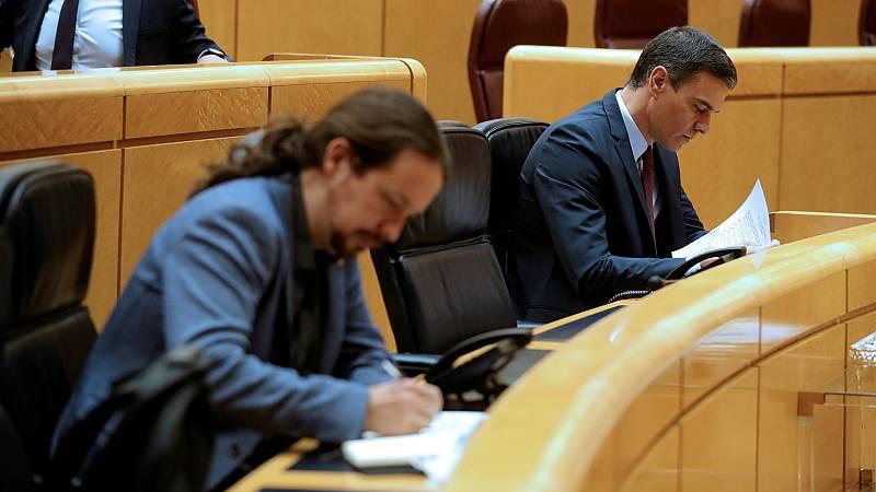 14 horas - PSOE y Unidas Podemos proponen limitar las funciones del CGPJ mientras su mandato esté caducado - Escuchar ahora