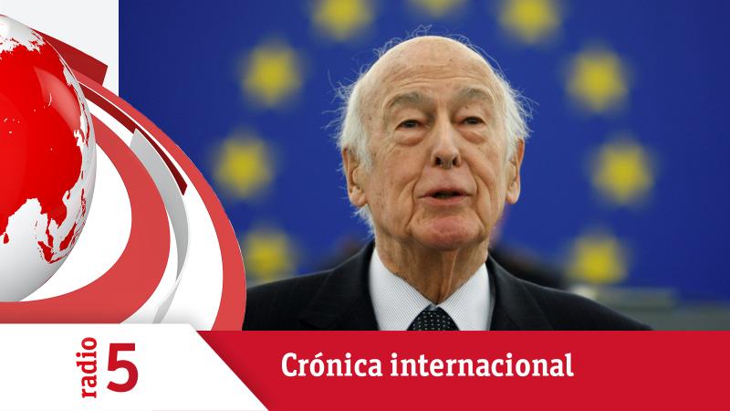 Crónica internacional - Muere Valéry Giscard d'Estaing, padre de la Europa moderna - Escuchar ahora