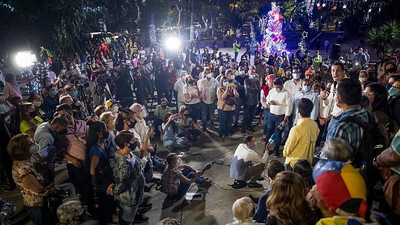 Las mañanas de RNE con Íñigo Alfonso - Participar en las elecciones o boicotearlas: las dudas de la oposición venezolana ante las legislativas del domingo - Escuchar ahora