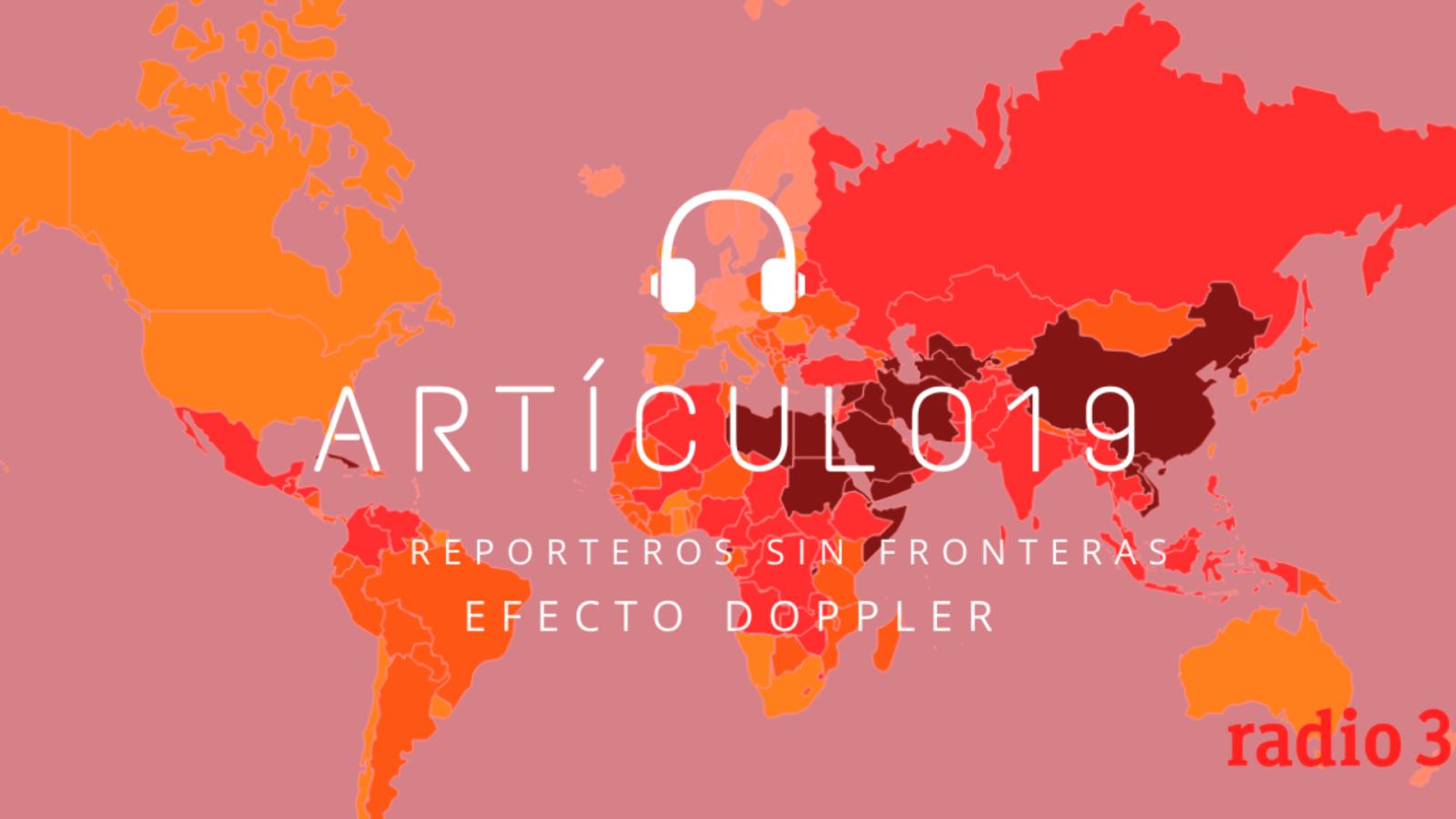 Efecto Doppler - Artículo 19: Mouna El Haimoud, periodismo multicultural - Escuchar ahora