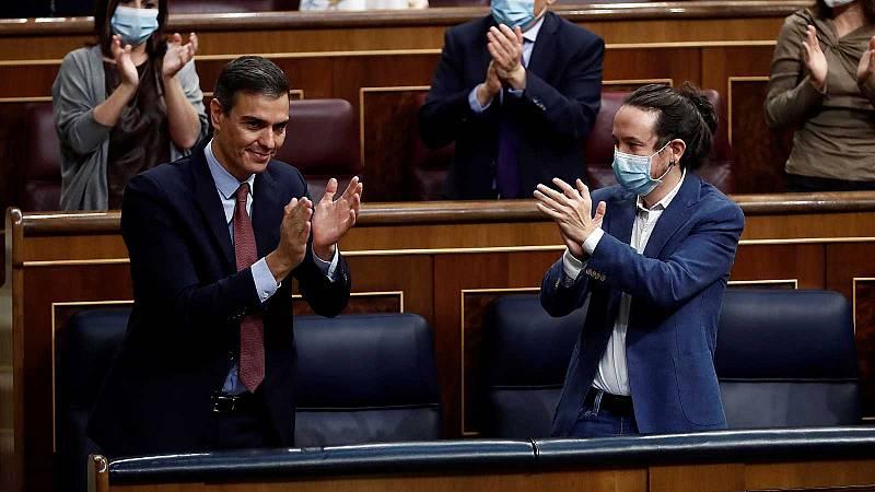14 horas - El Congreso aprueba los Presupuestos con una mayoría de 188 votos - Escuchar ahora