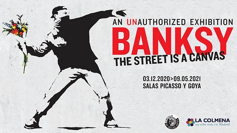 Más cerca - Banksy en Madrid - Escuchar ahora