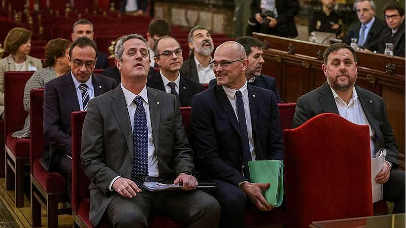 Boletines RNE -  El Supremo revoca el tercer grado a los nueve presos del 'procés' por considerarlo prematuro - Escuchar ahora