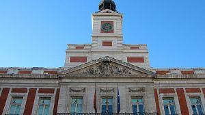 Las campanadas este año sin gente en la Puerta del Sol