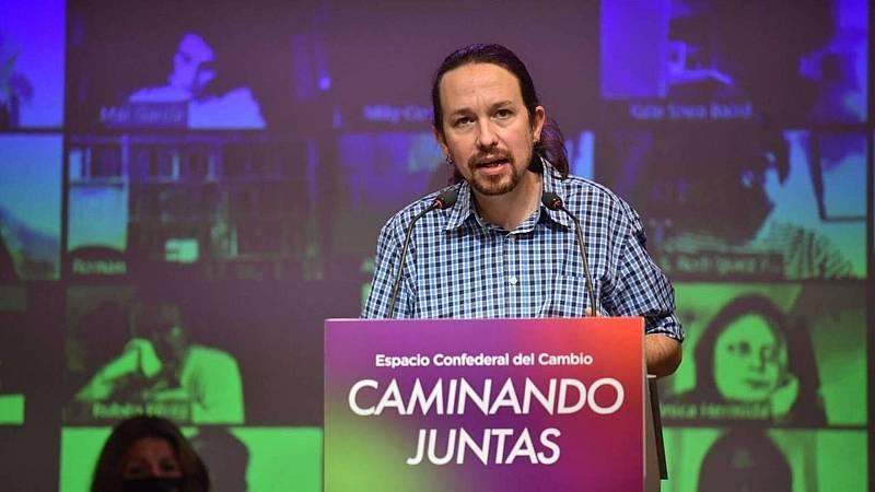 20 horas informativos Fin de semana - Iglesias apuesta por la reforma del sistema de elección del CGPJ sin esperar al PP - Escuchar ahora