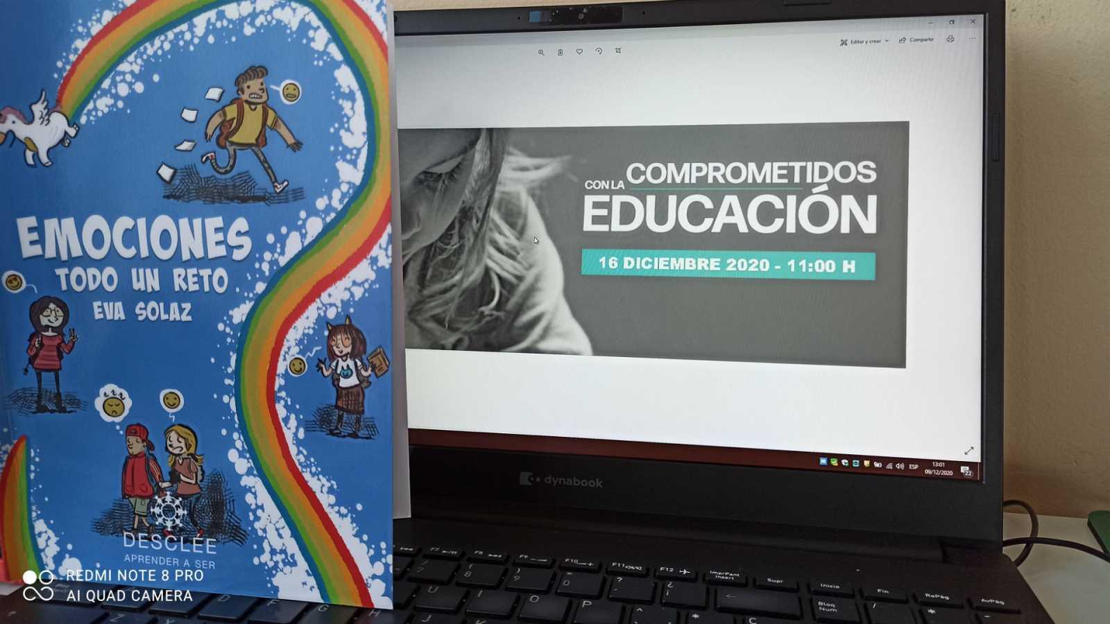 Educar para la paz - Educarmos con 'Emociones todo un reto' - 09/12/20 - escuchar ahora
