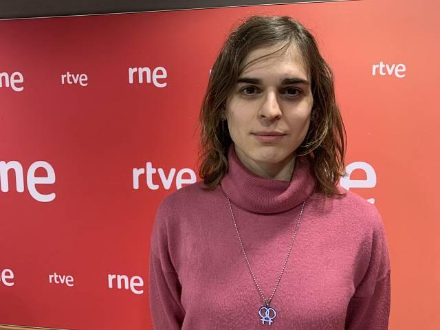 Raquel Antiñolo, una professora trans