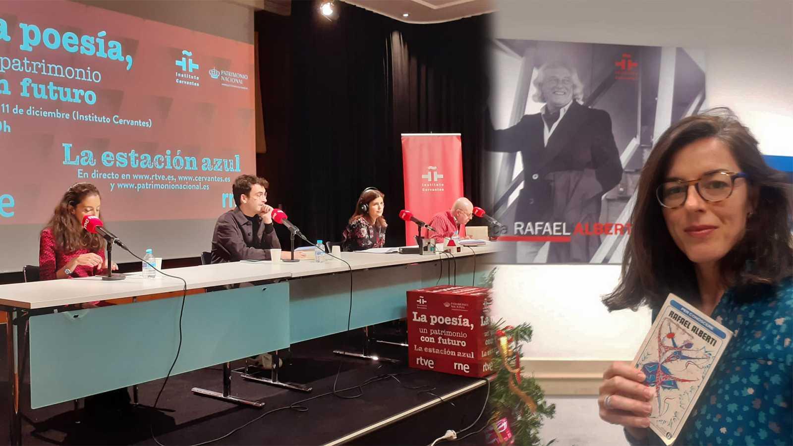 La ventana del Cervantes - La poesía, un patrimonio con futuro - 12/12/20 - Escuchar ahora