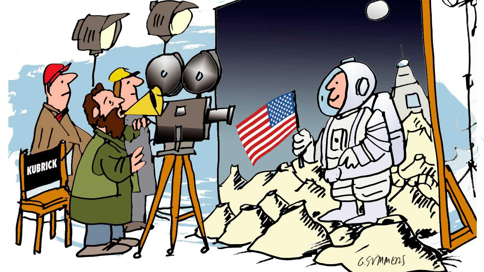 ¡Pero qué invento es esto! - El cine, Kubrick y la luna - Escuchar ahora
