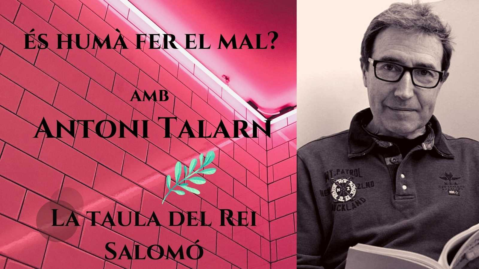 Wonderland - La taula del Rei Salomó. Entrevista a Antoni Talarn. Amb Cristina Hernández