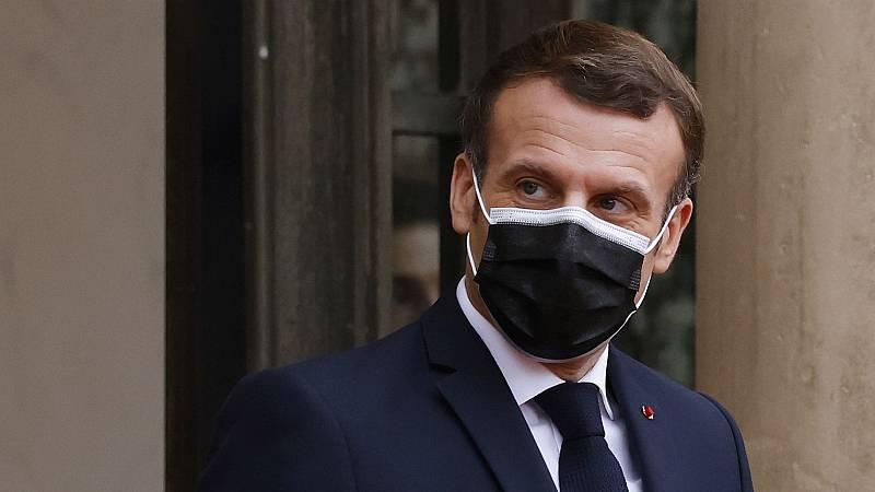 Boletines RNE - El presidente francés, Emmanuel Macron, positivo por coronavirus - Escuchar ahora