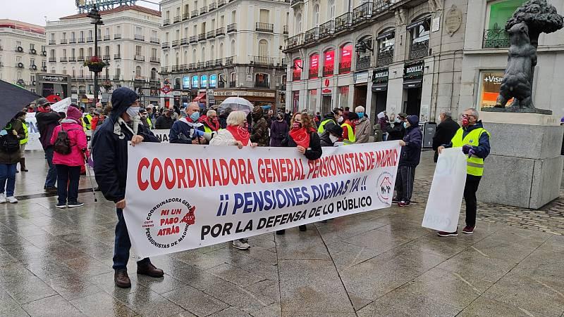 14 horas Fin de Semana - Los pensionistas protestan contra la reforma de las pensiones - Escuchar ahora