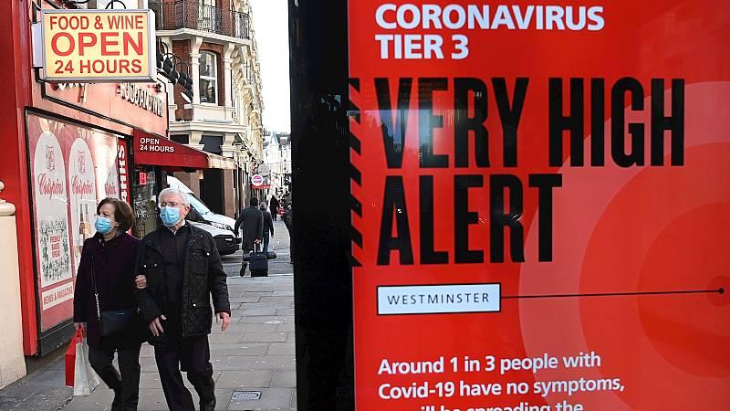 """14 horas Fin de Semana - La nueva variante del coronavirus en Inglaterra es más contagiosa pero no más grave: """"Las mutaciones son algo habitual en los virus"""" - Escuchar ahora"""