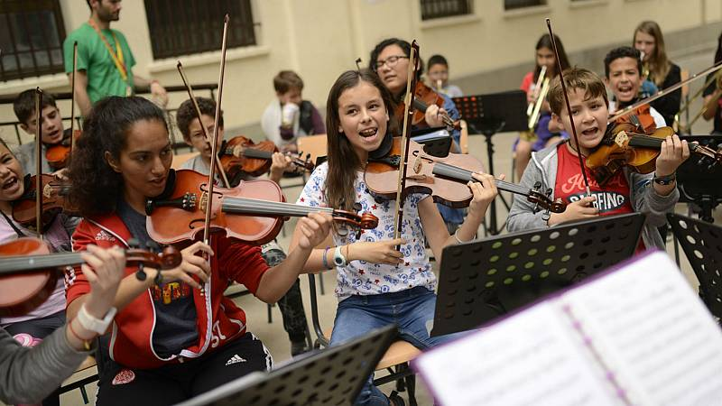 Educar para la paz - Educación musicosocial gratuíta e inclusiva con 'Da la nota' - 03/02/21 - Escuchar ahora