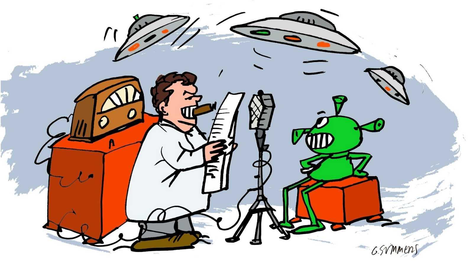 ¡Pero qué invento es esto! - La radio, Orson Welles y la Guerra de los Mundos - Escuchar ahora