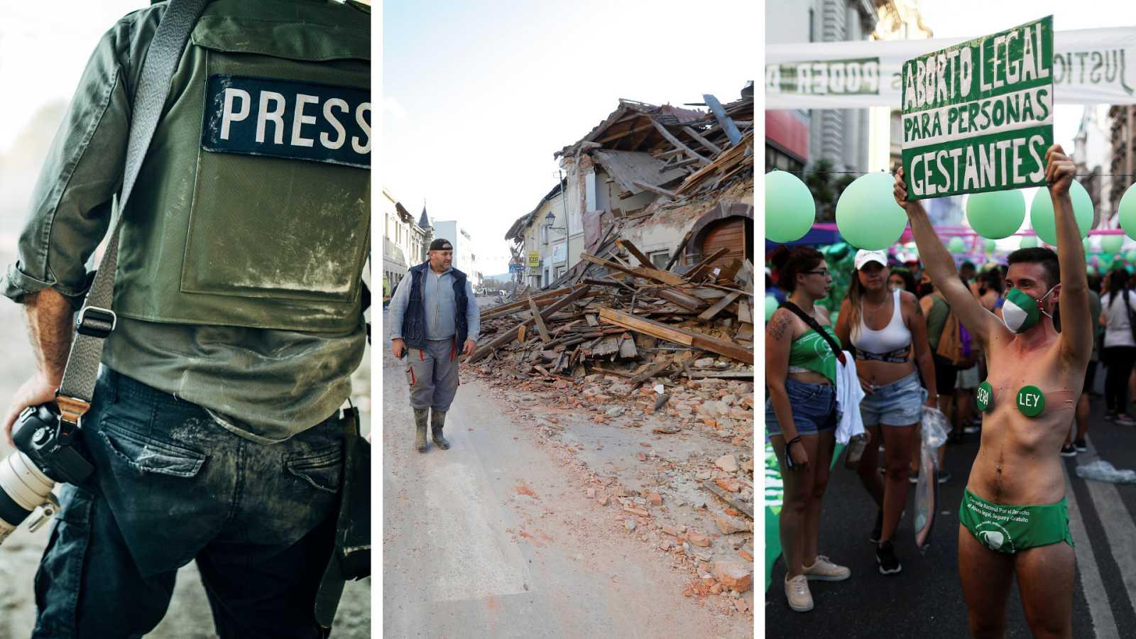Cinco continentes - 50 periodistas asesinados en 2020 - Escuchar ahora