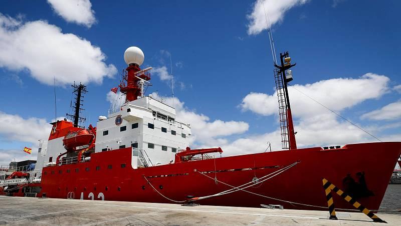 Las mañanas de RNE con Íñigo Alfonso - El Hespérides zarpa a la Antártida en una campaña marcada por la seguridad frente al coronavirus - Escuchar ahora